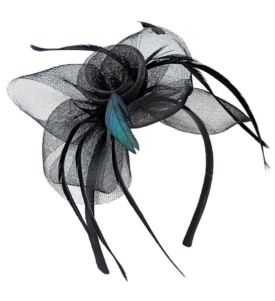 Adults Womens Cocktail Headpiece 20s 30s Ragtime Fancy Dress Hat